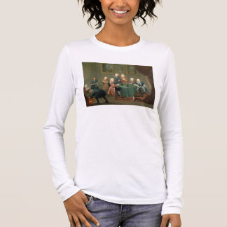 The Brothers Clarke with Other Gentlemen Taking Wi Long Sleeve T-Shirt