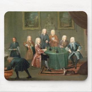 The Brothers Clarke with Other Gentlemen Taking Wi Mouse Pad
