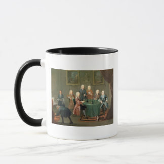 The Brothers Clarke with Other Gentlemen Taking Wi Mug