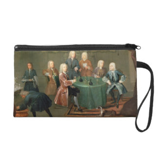 The Brothers Clarke with Other Gentlemen Taking Wi Wristlet Purse