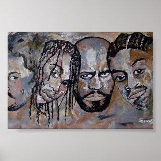 The Brothers- Mini Print (6 x4) by Janice Treece S