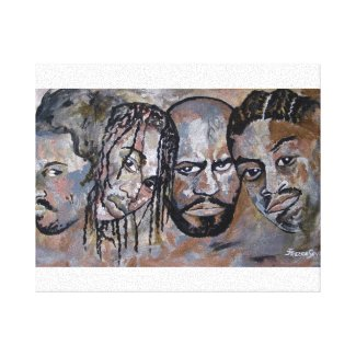 The Brothers- Painting by Janice Treece Senter zazzle_wrappedcanvas