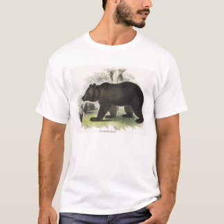 The Brown Bear, educational illustration pub. by t T-Shirt