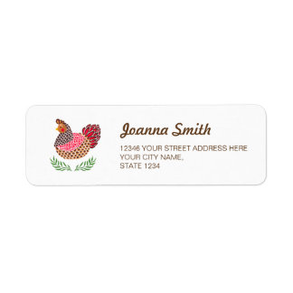 The Brown Hen Label