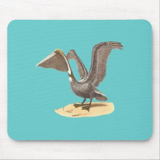 The Brown Pelican(Pelecanus fuscus) Mouse Pad