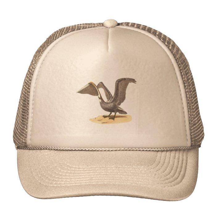 The Brown Pelican(Pelecanus fuscus) Trucker Hat