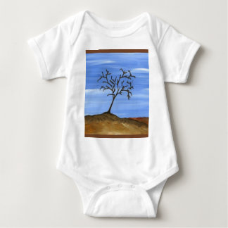 The Brown Tree Traditional Minimalist Painting Infant Creeper