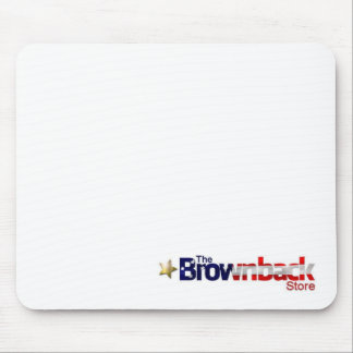 The Brownback Store Mouse Pad