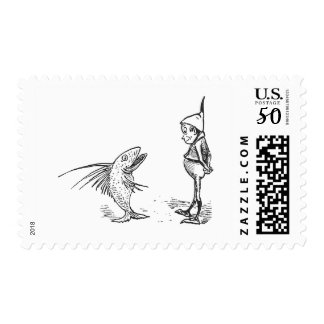 The Brownie and the Fish Postage