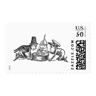 The Brownies and the Compass Postage