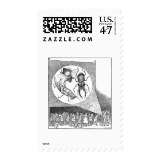 The Brownies and the Stereopticon Machine Postage