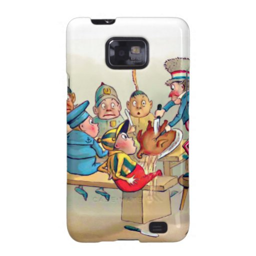 The Brownie's Christmas Dinner Samsung Galaxy SII Cases