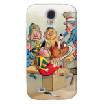 The Brownie's Christmas Dinner Samsung Galaxy S4 Covers