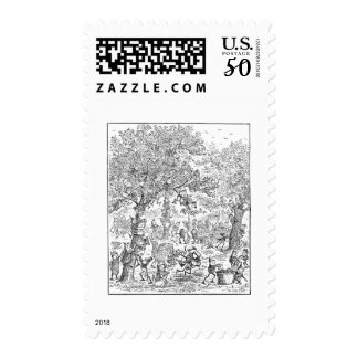 The Brownies in the Orchard Postage