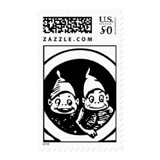 The Brownies: We are Creatures of the Night Postage