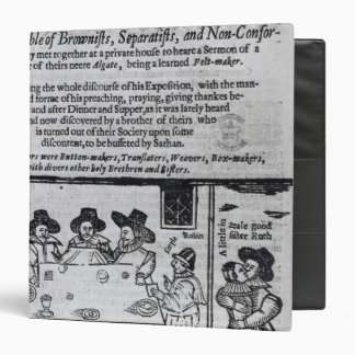 The Brownist Conventicle', published in 1641 Binder