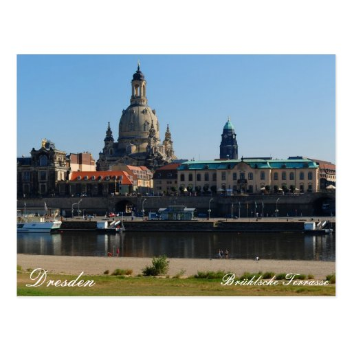 The Brühl's Terrace in Dresden Postcard on Zazzle