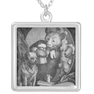 The Bruiser Charles Churchill, once the Square Pendant Necklace