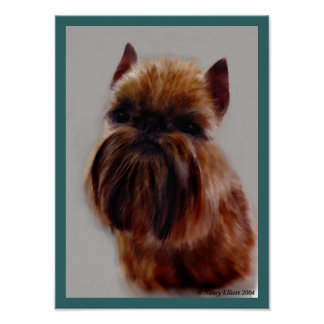 The Brussels Griffon Poster
