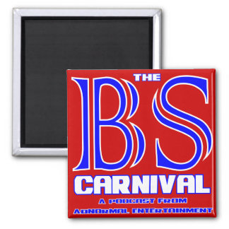 The BS Carnival 2 Inch Square Magnet