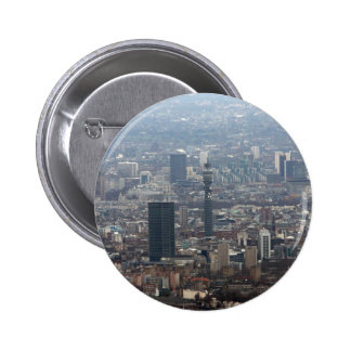 The BT Tower Pinback Button