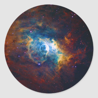 The Bubble Nebula NGC 7635 Sharpless 162 Classic Round Sticker