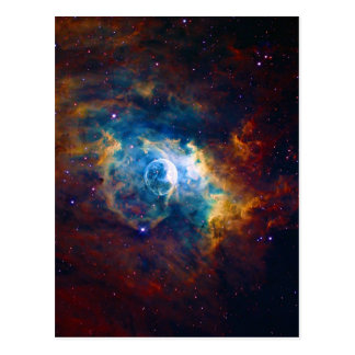 The Bubble Nebula NGC 7635 Sharpless 162 Postcard