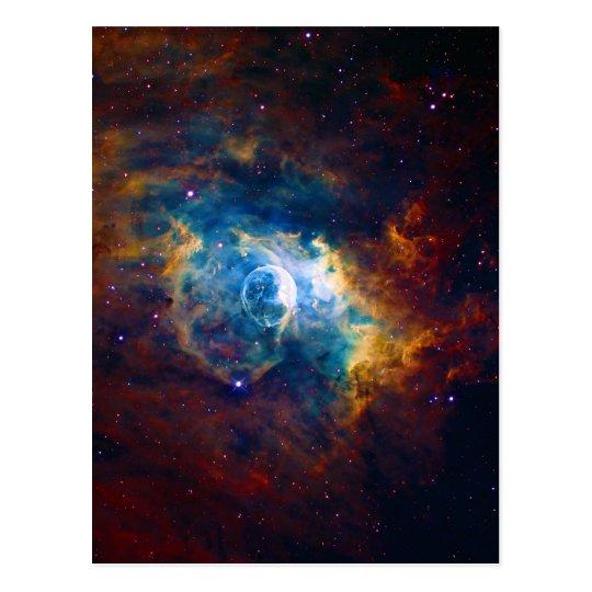 The Bubble Nebula NGC 7635 Sharpless 162 Postcard