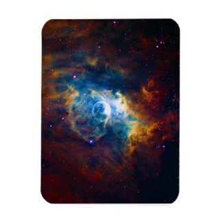 The Bubble Nebula NGC 7635 Sharpless 162 Rectangular Photo Magnet