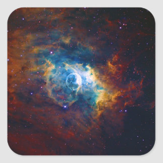 The Bubble Nebula NGC 7635 Sharpless 162 Square Sticker