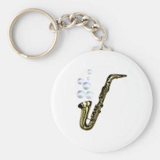 The Bubble Saxophone Keychain