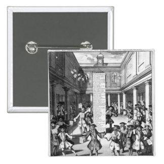 The Bubblers Bubbl'd, 1720 2 Inch Square Button