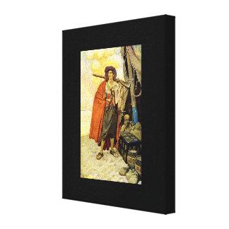 The Buccaneer - pirate art Canvas Print