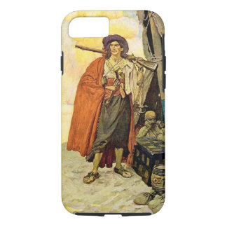 The Buccaneer - pirate art iPhone 7 Case