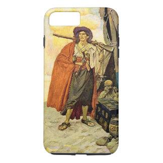 The Buccaneer - pirate art iPhone 8 Plus/7 Plus Case