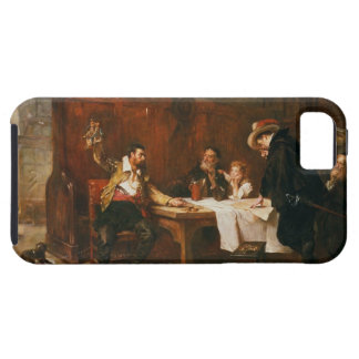 The Buccaneer's Story (oil on canvas) iPhone SE/5/5s Case