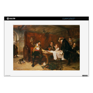 The Buccaneer's Story (oil on canvas) Laptop Skin
