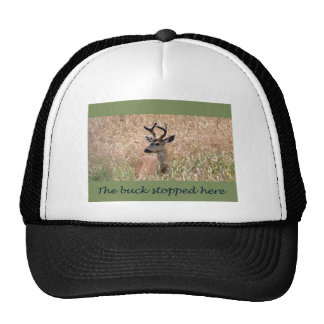 The Buck Stopped Here (2) Trucker Hat