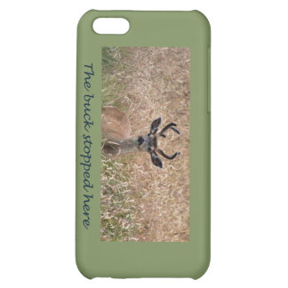 The Buck Stopped Here Deer 2 iPhone 5C Cases