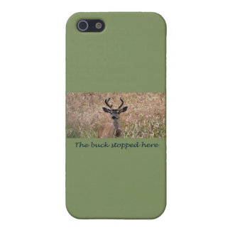 The Buck Stopped Here Deer Hunter 2 iPhone 5 Case