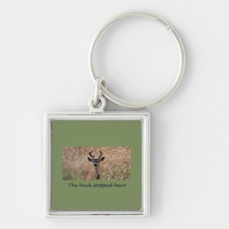The Buck Stopped Here Key Chains