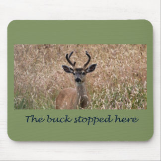 The Buck Stopped Here Mouse Pad