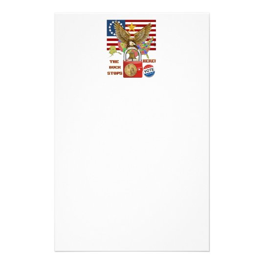 The-Buck-Stops-Here-1 Stationery