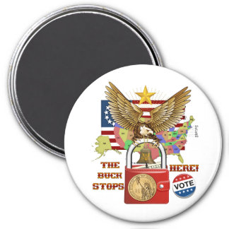 The-Buck-Stops-Here-1A Magnet