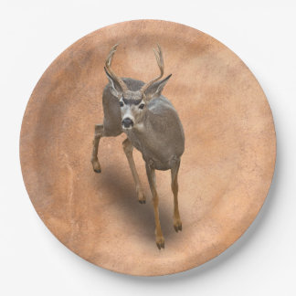 THE BUCK STOPS HERE 9 INCH PAPER PLATE
