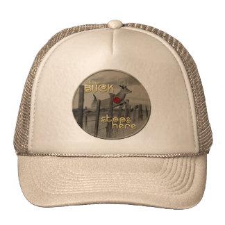The Buck Stops Here Trucker Hat