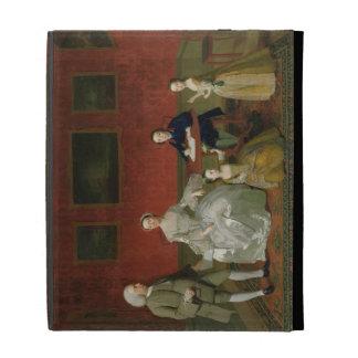 The Buckley-Boar Family, c.1758-60 (oil on canvas) iPad Case