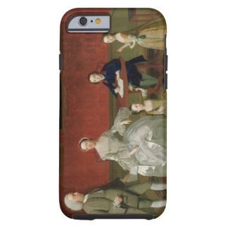The Buckley-Boar Family, c.1758-60 (oil on canvas) Tough iPhone 6 Case