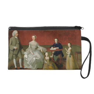 The Buckley-Boar Family, c.1758-60 (oil on canvas) Wristlet Purse