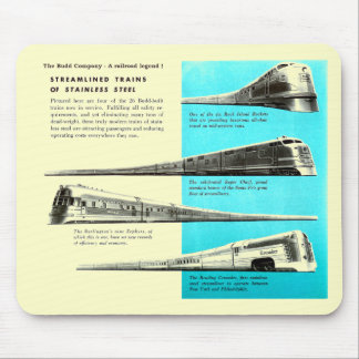 The Budd Company - A Railroad Legend Mouse Pad